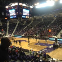 Photo taken at Bramlage Coliseum by Riley G. on 2/9/2013