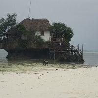 Photo taken at The Rock Restaurant Zanzibar by Onica M. on 1/5/2018