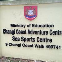 Photo taken at MOE Changi Coast Adventure Centre by Abdul Kadir on 6/3/2013