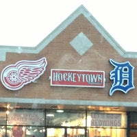 Photo taken at Hockeytown Authentics by Valerie on 1/12/2013