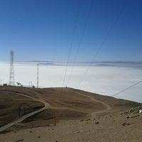 Photo taken at Cerro Tarapaca by Jose F. on 6/16/2013