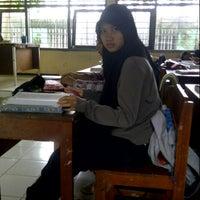Photo taken at SMA Negeri 13 Surabaya by Andini L. on 1/25/2014