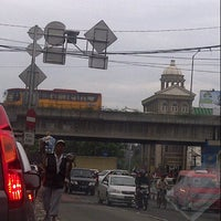 Photo taken at Flyover Daan Mogot by David C. on 11/19/2012