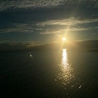 Photo taken at Bernadin Strand - Beach by Chris L. on 7/14/2016