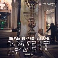 Photo taken at The Westin Paris – Vendôme by William S. on 1/28/2013