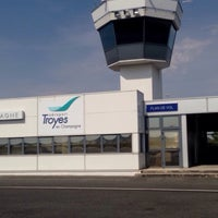 Photo taken at Aéroport Troyes en Champagne (QYR) by Selin A. on 8/7/2015