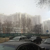 Photo taken at Шенкурский проезд by Boris K. on 4/19/2015