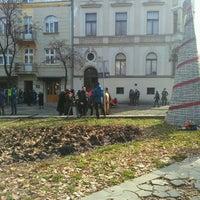Photo taken at Magistratski trg by R on 11/17/2016
