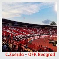 """Photo taken at Stadion """"Rajko Mitić"""" by Ratko on 5/11/2013"""