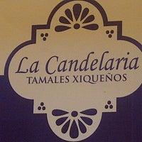 Photo taken at La candelaria tamales xiqueños by il leo on 3/4/2013