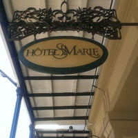 Photo taken at Hotel St. Marie by Jessica on 3/29/2013