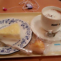 Photo taken at Doutor Coffee Shop by Flavia a. on 1/26/2013