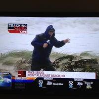 Photo taken at Frankenstorm Apocalypse - Hurricane Sandy by Rich C. on 10/29/2012