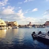 Photo taken at Gruissan by Galina G. on 12/28/2014
