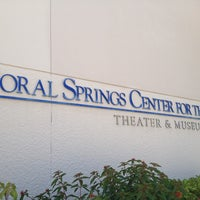 Photo taken at Coral Springs Museum of Art by PVG on 4/27/2013