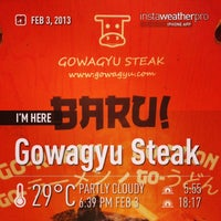 Photo taken at Gowagyu Steak by henry s. on 2/3/2013