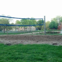 Photo taken at Landmark Volleyball Pit by Nick L. on 5/14/2013