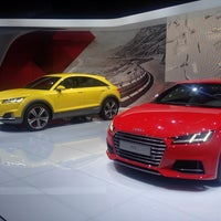 Photo taken at Audi на mmac by Dmitriy K. on 8/28/2014