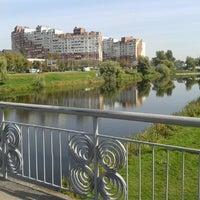 Снимок сделан в Троєщинський канал пользователем Anna S. 9/14/2012