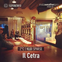 Photo taken at Il Cetra by Alessandro B. on 2/12/2013