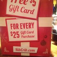 Photo taken at RibCrib BBQ & Grill by Marshall on 12/12/2013