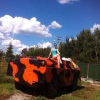 Photo taken at База отдыха «Парус» by Ellina K. on 8/17/2013