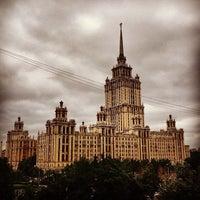Снимок сделан в Природный заказник «Воробьёвы горы» пользователем Oleg N. 6/22/2013
