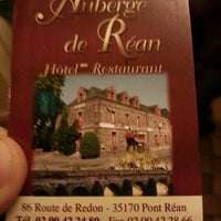 Photo taken at Auberge de Rean by Patrick P. on 3/30/2013