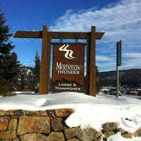 Photo taken at Mountain Thunder Lodge by Kevin on 12/21/2012