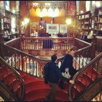 Photo taken at Livraria Lello by José Manuel F. on 12/6/2012
