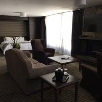 Photo taken at Hotel & Spa Mont Gabriel by Daniel on 3/18/2017