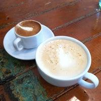Photo taken at Dollop Coffee & Tea Co. by Bridget on 9/16/2012