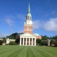 Photo taken at Wake Forest University by Halle on 8/22/2013