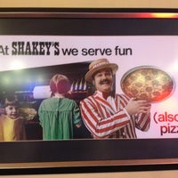 Photo taken at Shakey's Pizza Parlor by Brian on 10/8/2012