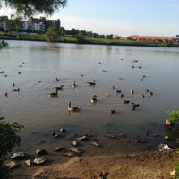 Photo taken at Granville Gude Park and Lakeside by Christian💋 on 6/23/2014