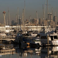 Photo taken at Elliott Bay Marina by Vincent on 10/9/2012