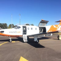Photo taken at Taupo Airport (TUO) by Chris Y. on 11/23/2015