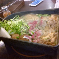 Photo taken at 鋤燒鍋物料理 by Sabrina C. on 2/7/2013