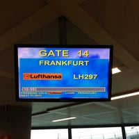 Photo taken at Gate 14 by Emanuele on 10/22/2013