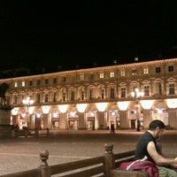 Photo taken at Piazza San Carlo by Ali T. on 5/8/2013