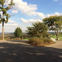 Photo taken at The Pete Dye Course at French Lick by Jon K. on 10/18/2013
