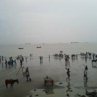 Photo taken at patenga Beach by M A. on 9/5/2013
