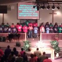 Photo taken at Antioch Missionary Baptist Church by Natasha W. on 4/28/2013
