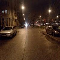 Photo taken at Újpesti rakpart by Hoffmann Z. on 2/25/2016
