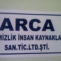 Photo taken at Arca Temizlik Ve İnsan Kaynakları by Kemal B. on 2/4/2013