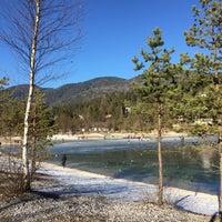 Photo taken at Jezero Jasna by Petra D. on 1/2/2017