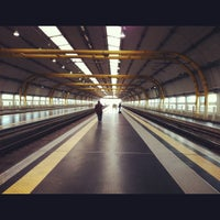 Photo taken at Fiumicino Airport Railway Station (ZRR) by S on 12/4/2012