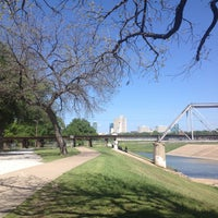 Photo taken at Trinity River Park by Sara J. on 4/14/2013