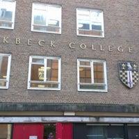 Photo taken at Birkbeck, University of London by 🔱Zaiq K. on 12/7/2012