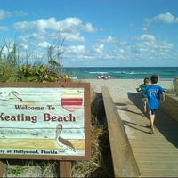 Photo taken at Keating Beach by Aiante C. on 2/2/2013